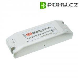 Vestavný spínaný zdroj MeanWell PLC-60-12 LED, 12 VDC, 60 W