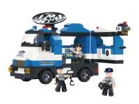 Stavebnice SLUBAN POLICE POLICEJNÍ VÝZVĚDNÁ JEDNOTKA M38-B0187