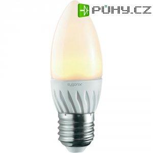 LED žárovka Sygonix, E27, 3 W, 230 V, 106 mm, teplá bílá