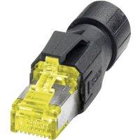 Konektor RJ45 Phoenix Contact VS-08-RJ45-10G/Q, IP20, AWG 26-24, žlutá/černá