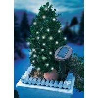 Solární světelný řetěz Esotec, 24 LED, 7 m, bílá