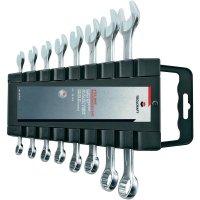 Sada očkoplochých klíčů Toolcraft, 8 - 19 mm, 8 ks, včetně lišty