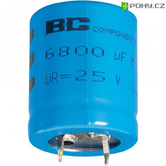 Snap In kondenzátor elektrolytický Vishay 2222 056 55223, 22000 µF, 16 V, 20 %, 40 x 30 mm - Kliknutím na obrázek zavřete