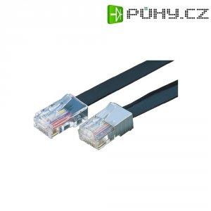 ISDN kabel zástrčka RJ45 ⇔ zástrčka RJ45, 15 m, 8žílový