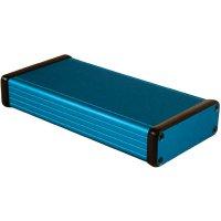 Univerzální pouzdro hliníkové Hammond Electronics, (d x š x v) 160 x 78 x 27 mm, modrá