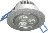 Podhledové světlo LED 3x1W,bílé, 230V/3,5W