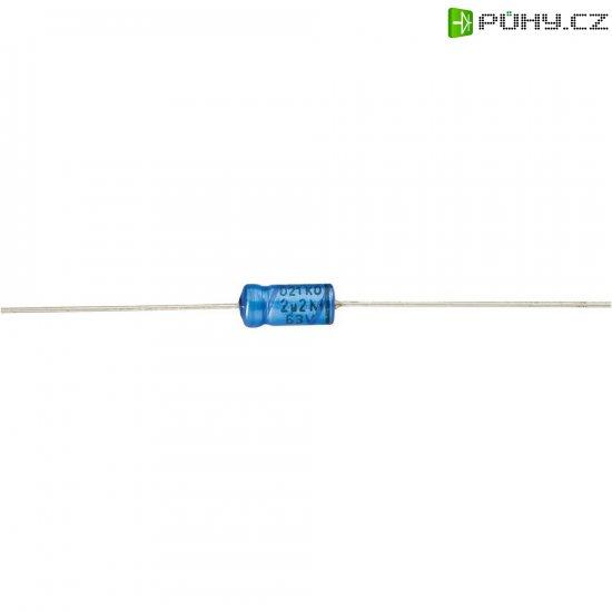 Axiální kondenzátor elektrolytický Vishay 2222 021 17472, 4700 µF, 40 V, 20 %, 38 x 21 mm - Kliknutím na obrázek zavřete