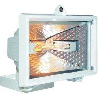 Halogenový reflektor s detektorem pohybu, R7s, 120 W , IP44, bílá