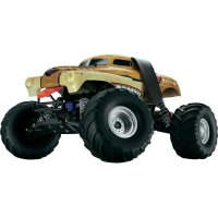 RC model EP Monstertruck Traxxas Monster Mutt, 1:10, 2WD, RtR 27 MHz AM