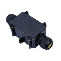 Spojka kabelová vodotěsná mini,IP68, 1x vstup, 2x výstup, SOLIGHT WW003