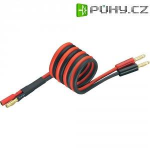 Napájecí kabel s bánanky 3 mm zástrčka/zásuvka Modelcraft, 250 mm, 2,5 mm²