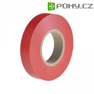 Izolační páska HellermannTyton HelaTapeFlex 15, 710-00112, 15 mm x 25 m, červená