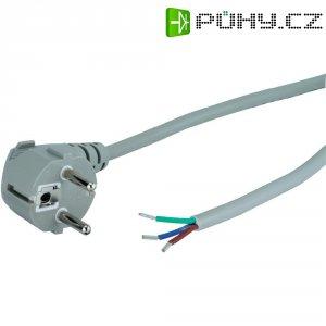 Síťový kabel Goobay 50082, zástrčka/otevřený konec, 0,75 mm², 1,5 m, šedá