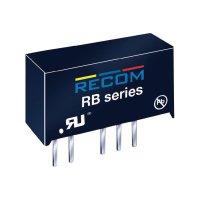 DC/DC měnič Recom RB-2412D, vstup 24 V/DC, výstup ±12 V/DC, ±42 mA, 1 W