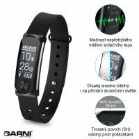 Fitness náramek s měřením tepové frekvence GARNI Q-68HR