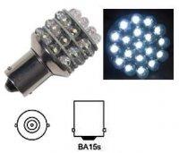 Žárovka LED Ba15S 12V/3W bílá, 36x LED3mm