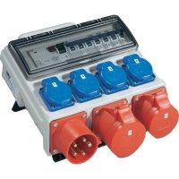 Rozbočovač Mobil Horn BV Stand PCE, 9004002-p, zástrčka 32 A ⇒ 2x CEE a 4x zásuvka