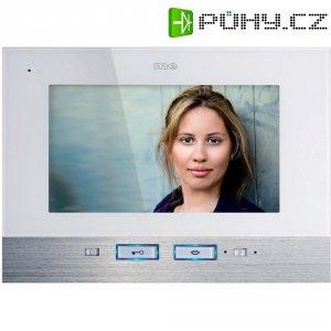 Vnitřní jednotka pro domácí videotelefon m-e VDV-507, 1 rodina, bílá/nerez