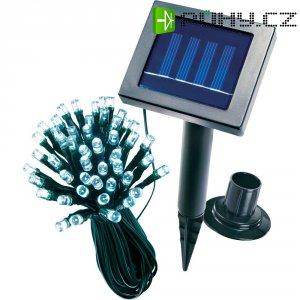 Solární světelný řetěz esotec, 48 LED, 12 m, bílá