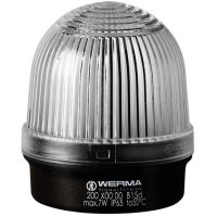 Trvalé osvětlení Werma Signaltechnik 200.400.00, 12 - 240 V / AC/DC, IP65, transparentní