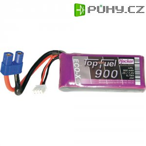 Akupack Li-Pol (modelářství) Hacker 20900241, 7.4 V, 900 mAh
