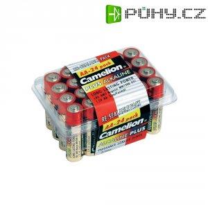 Sada alkalických/manganových baterií Camelion, typ AA, 24 ks