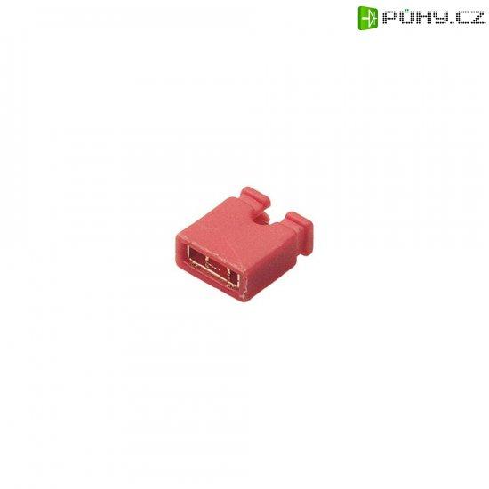 Zkratovací můstek BKL Electronic 10120190, 2pól., rastr 2,54 mm, černá - Kliknutím na obrázek zavřete