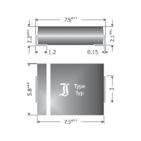 Schottkyho dioda Diotec SK84, 8 A, U(R) 40 V, I(F) 8 A