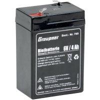 Olověný akumulátor (modelářství) Graupner 769, 6 V, 4 Ah