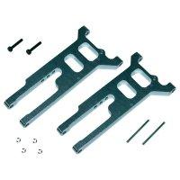 Příčné rameno nápravy hliníkové Reely, přední/zadní, 1:10 (SEV23472)
