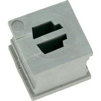 Kabelová objímka Icotek KT-ASI2 (39922), 21 x 21 mm, šedá
