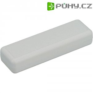 Univerzální pouzdro ABS Strapubox KUNSTSTOFF-GEHAEUSE, GRAU, 129 x 40 x 24 mm, šedá (TYP 6090)