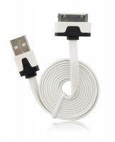 Datový kabel pro Apple iPhone 3G/3GS/Ipod/4G, plochý