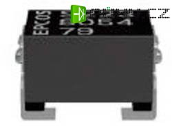 SMD cívka Epcos B82789C0223N002, 22 µH, 0,25 A, 1812