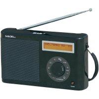 DAB/DAB+ rádio Sailor Plus SA-123B, černá
