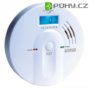 Detektor úniku CO Protector, 20557, 4,5 V