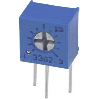 Odporový trimr Bourns, 3362W-1-102LF, 1 kΩ, 0,5 W, ± 10 %