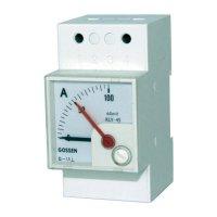 Analogový měřicí přístroj na DIN lištu GMW DQB 45H, MB 20 mA