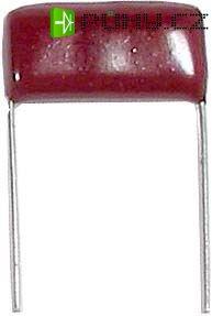 100n/1000V CL21, RM=24mm, svitkový kondenzátor