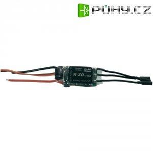 Regulátor otáček Brushless Hacker X-Pro, 5 - 10 NiCd / 2 - 3 LiPo, 30 A, JR