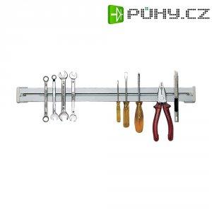 Magnetická lišta na nářadí Toolcraft 837471, 500 mm x 40mm