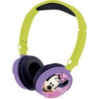 Dětská sluchátka Lexibook Disney Minnie Mouse