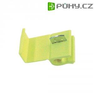 Zářezová svorka 3M, 80-6011-0317-1, 1,5 - 4 mm², 2pólová, žlutá