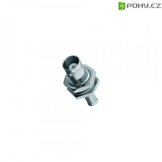 BNC vestavná zdířka Amphenol B6421A1-NT3G-1-50, 50 Ω - Kliknutím na obrázek zavřete