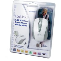 Bezdrátová optická myš LogiLink ID0030, bílá