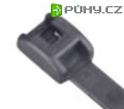 Bezpečnostní stahovací UV pásky ABB SF 100-18X-100, 118 x 2,4 mm, 100 ks