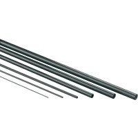 Uhlíkový profil půlkruh Ø 0,8 mm, 500 mm