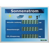 LCD displej pro fotovoltaické systémy Weigel WGA350si-19-41