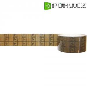 ESD lepicí páska s mřížkou BJZ C-102 012, 34 m x 12 mm, černá