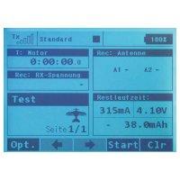 RC souprava Jeti Duplex 2,4EX, DS-16, Mode 1/3